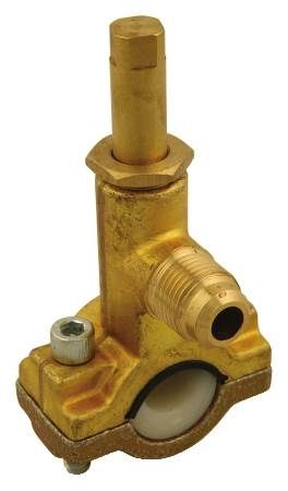 Saddle Tap Valve No Shut-Down, Drilling or Pipe Cutting