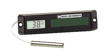Digital Solar Powered Thermometer
