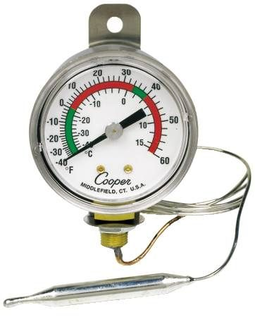Remote Vapor Tension Thermometer