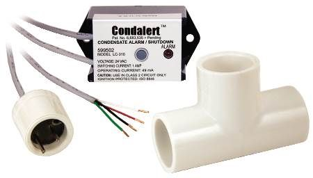 Condelert™ Condensate Overflow Detection