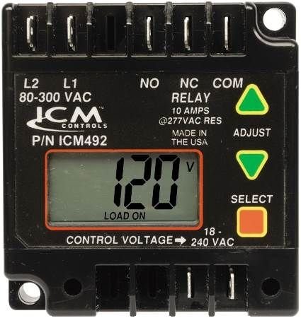Single-Phase Digital Line Voltage Monitor