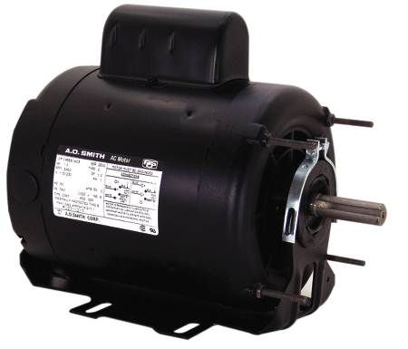 Resilient Base Capacitor Start General Purpose Fan and Blower Motor Single-Phase