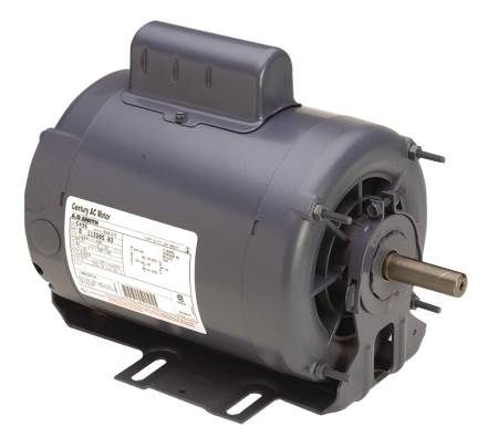 Belt Drive Resilient Base 2-Speed Motor