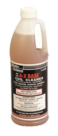 4-X Base Coil Cleaner