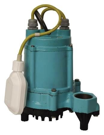 1/3 HP, 115V High Temperature Sump/Effluent Pump