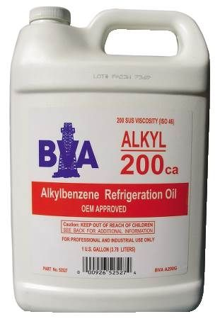 Alkylbenzene Refrigeration Oil