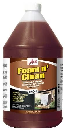Foam N' Clean Coil Cleaner