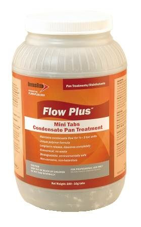 "Flow-Plus'"" Condensate Pan Treatment 200 Tabs per Jar"