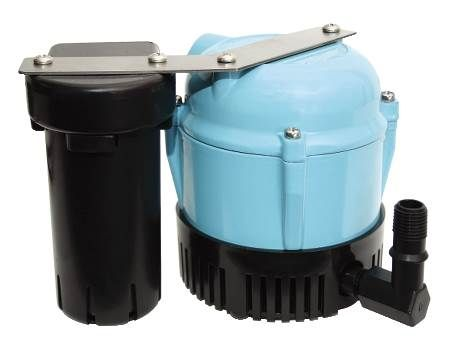 Automatic In-Pan Condensate Pump For Humidifiers, Ice Makers and Drinking Fountains