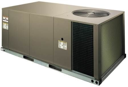 Single Packaged Rooftop Air Conditioner — Belt Drive, 208/230 Volt ZS Series, 4 Ton, Three-Phase, Commercial, R410A