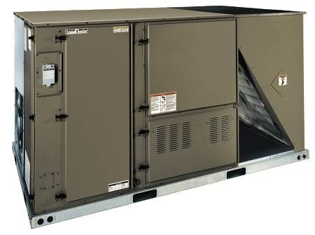 Single Packaged Heat Pumps 11 EER, Three-Phase, 10 Ton, R410A