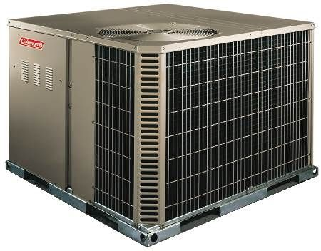 Dual Fuel Packaged Heat Pumps 14 SEER, Single-Phase, Two-Stage, 2 Ton R410A