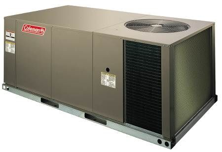 Single Packaged Heat Pump — Belt Drive with Economizer, 460 Volt, 3-Phase 2.5 Ton, Commercial, R410A, 460V