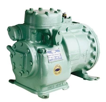 Carrier Semi-Hermetic Compressor Remanufactured by Aircondex, Inc.