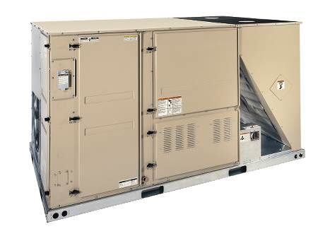 Single Packaged Rooftop Air Conditioner — 208/230 Volt ZK Series, 10-1/2 Ton, Three-Phase, Commercial, R410A