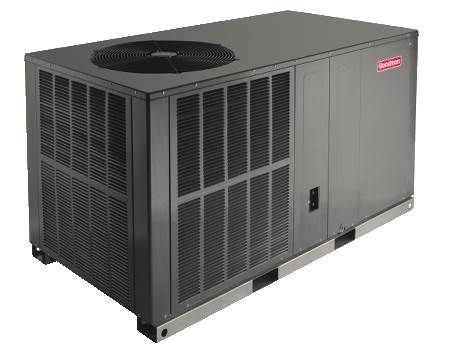 Single Packaged Heat Pump 13 SEER, Single-Phase, 3.5 Ton, R410A, Horizontal