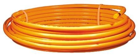 1/4 in. x 60 ft. Copper Orange Coated Tubing