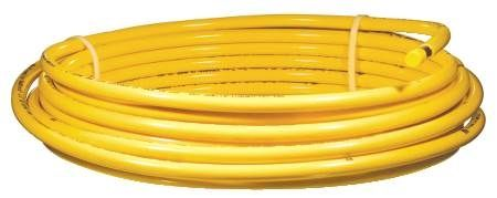 3/8 in. x 60 ft. Copper Yellow Coated Tubing