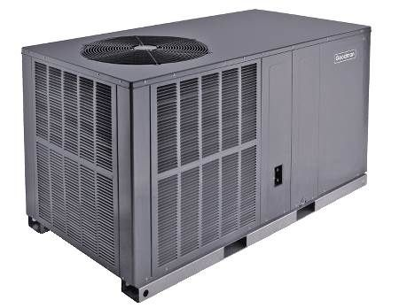 Single Packaged Air Conditioner 13 SEER, Single-Phase, 4 Ton, R410A, Horizontal