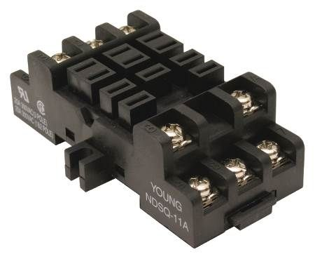 Socket For Plug-In Relays