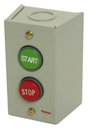 Furnas Remote Control Station Pushbutton Start/Stop for 3-Wire Circuits Up to 600 Volts