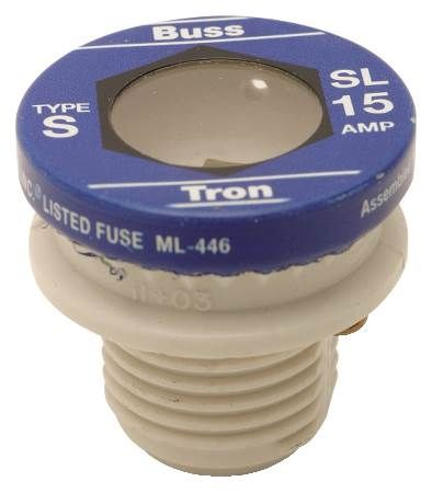 Non-Tamp Type S Time Delay Fuse