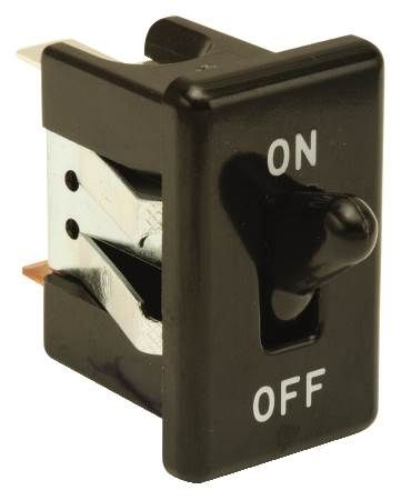 Black On-Off Toggle