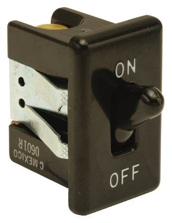 On-Off Black Toggle