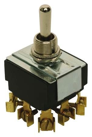 On-Off-On Toggle Combi-Terminal Switch