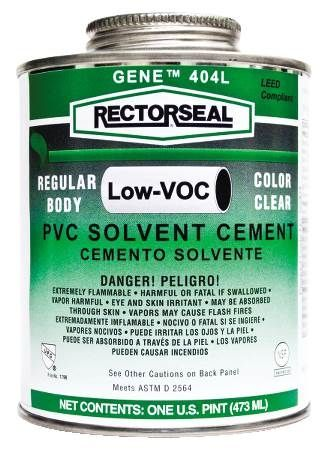 Gene™ 404 PVC Low VOC Solvent Cement