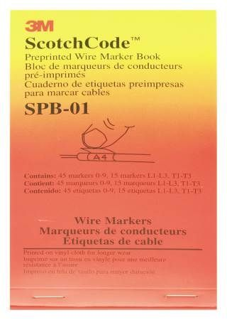 ScotchCode™ Pre-Printed Wire Marker Book