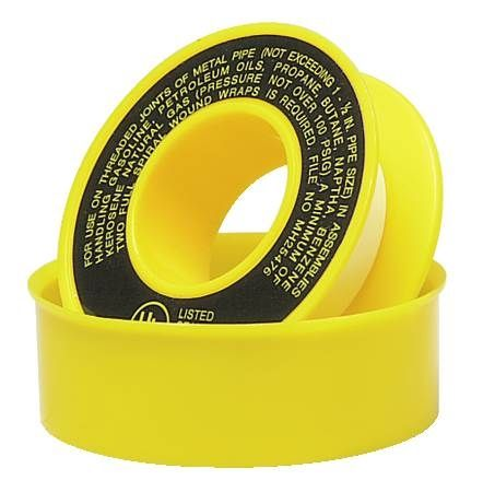 Yellow TFE Tape