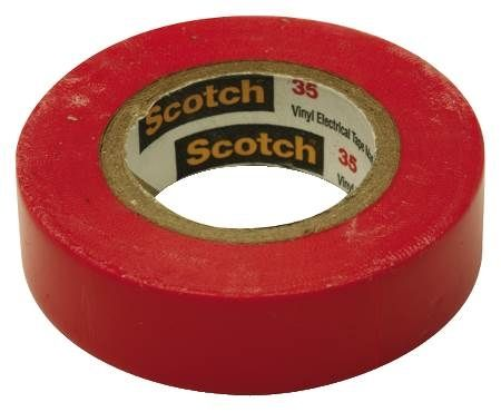 Red Colored Marking Tape