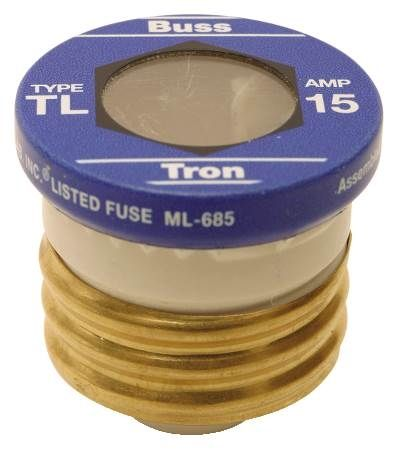 Clear Window Fuse 15 Amp