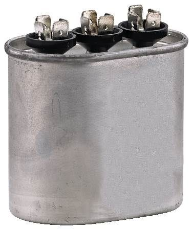 Dual Rated Motor Run Capacitor Oval
