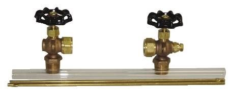 Gauge Glass and Valve
