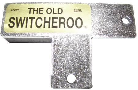 The Old Switcheroo HVAC Door Switch Depressor
