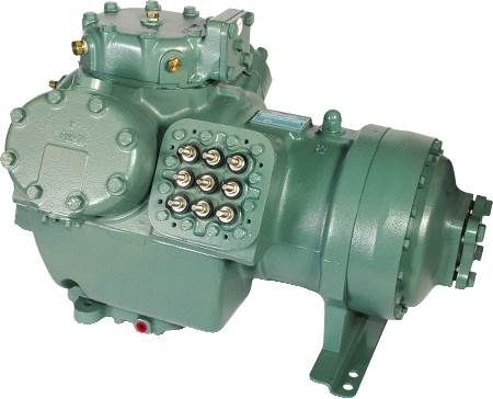 Carrier Semi-Hermetic Compressor Remanufactured by A-1 Compressor