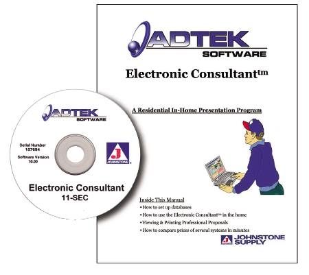 Electronic Consultant In-Home Presentation Software
