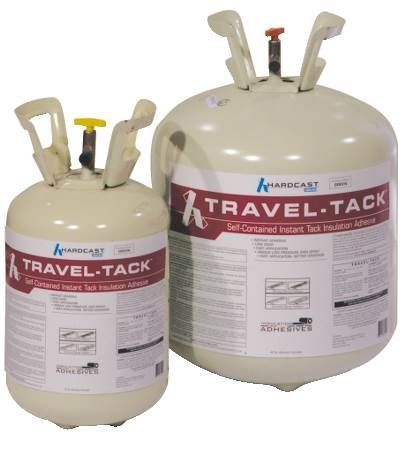 Travel-Tack Portable Duct Insulation Spray Adhesive System