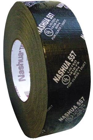 "2"" Black Premium Duct Tape UL181B-FX Listed"