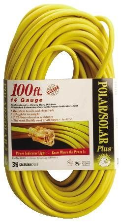 Polar Solar Plus Extension Cords