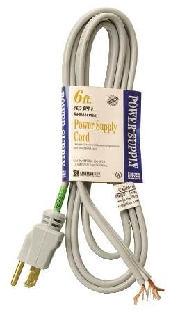 Flat Power Supply Cords
