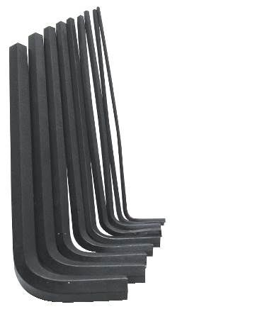 "9-Piece 6"" Arm Hex Key Set"