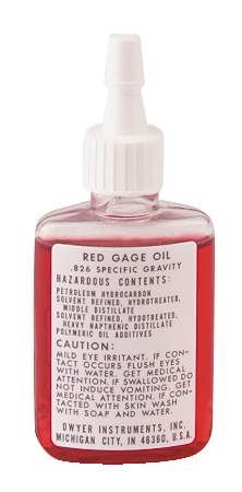 Red Gage Oil