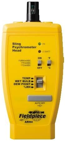 "Relative Humidity And Temperature Converter Head Converts ""Stick"" Meter to RH% and Temperature Meter"