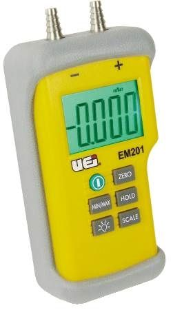 High Resolution Dual Input Digital Manometer