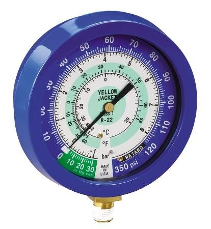 Liquid Filled Low Side Gauge