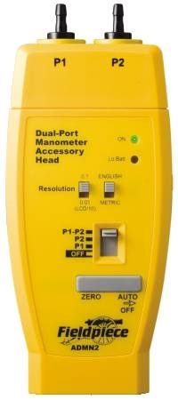 Dual Input Manometer Accessory Head