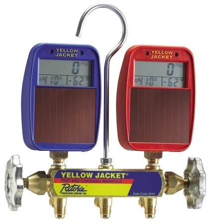 Series 41 2-Valve Manifold with Solar Gauges